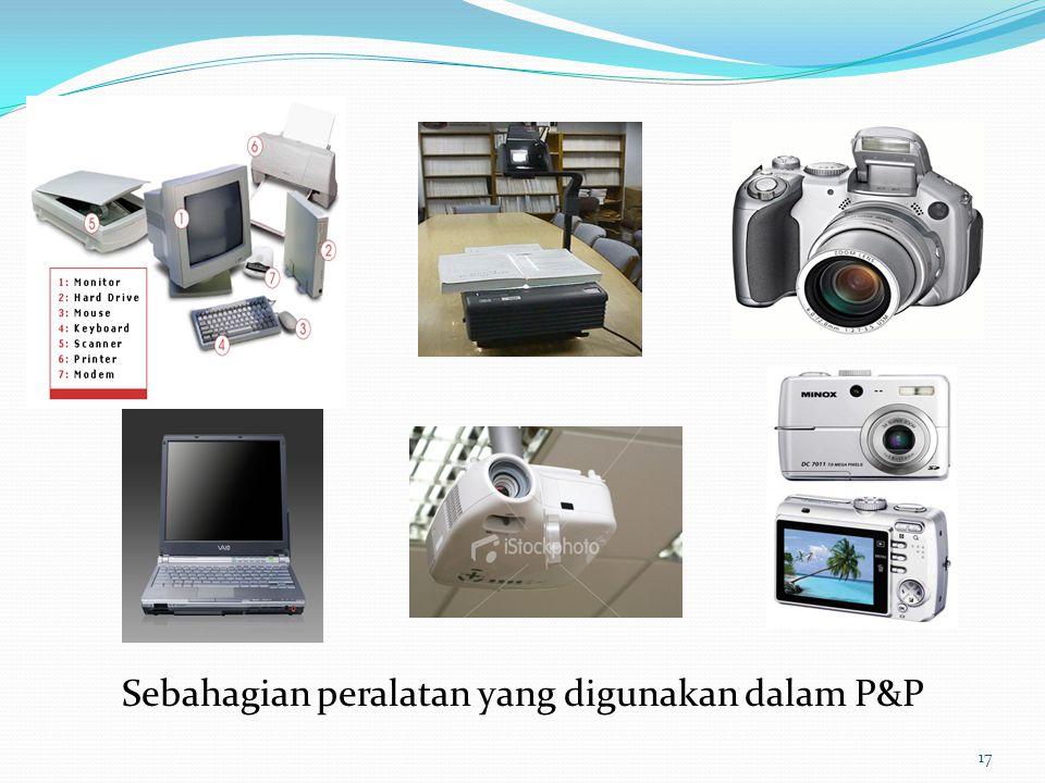 Sebahagian peralatan yang digunakan dalam P&P 17