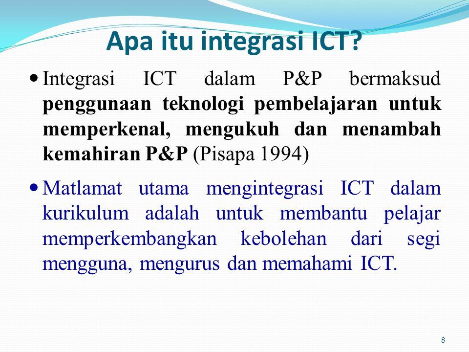 Apa itu integrasi ICT.