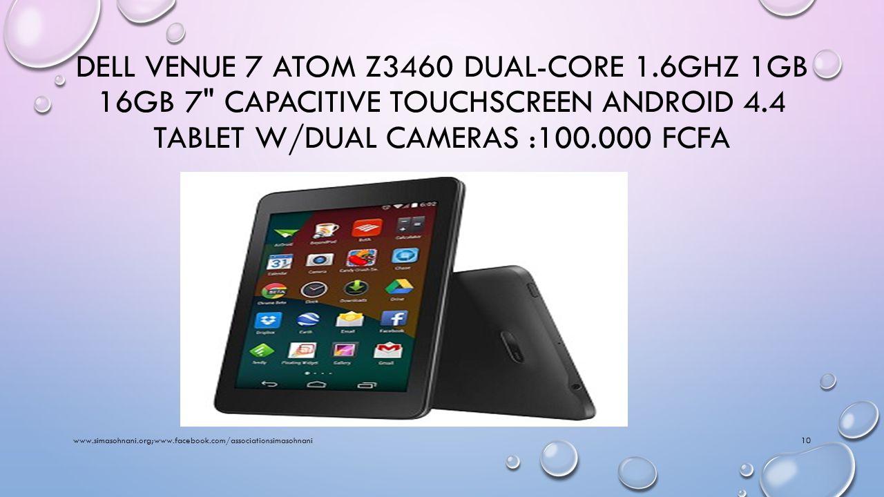DELL LATITUDE 10 WINDOWS 8 TABLET 64GB (ST2E) - ATOM DUAL-CORE 1.8GHZ 2GB 64GB SSD 10.1