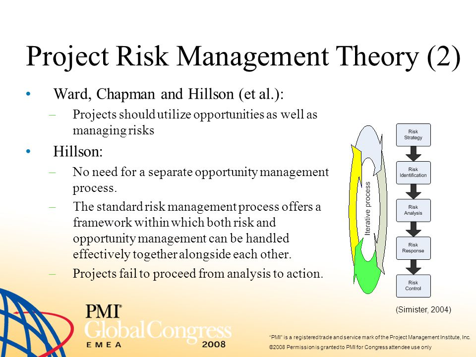 PMI is a registered trade and service mark of the Project Management Institute, Inc.