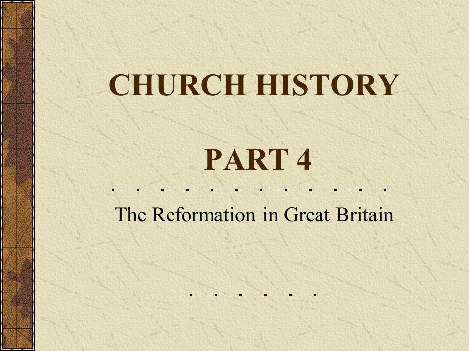 17 th February 2008Clogher Valley Bible Class Presbyterianism Established The Government: 1:Kirk Session for the local church.