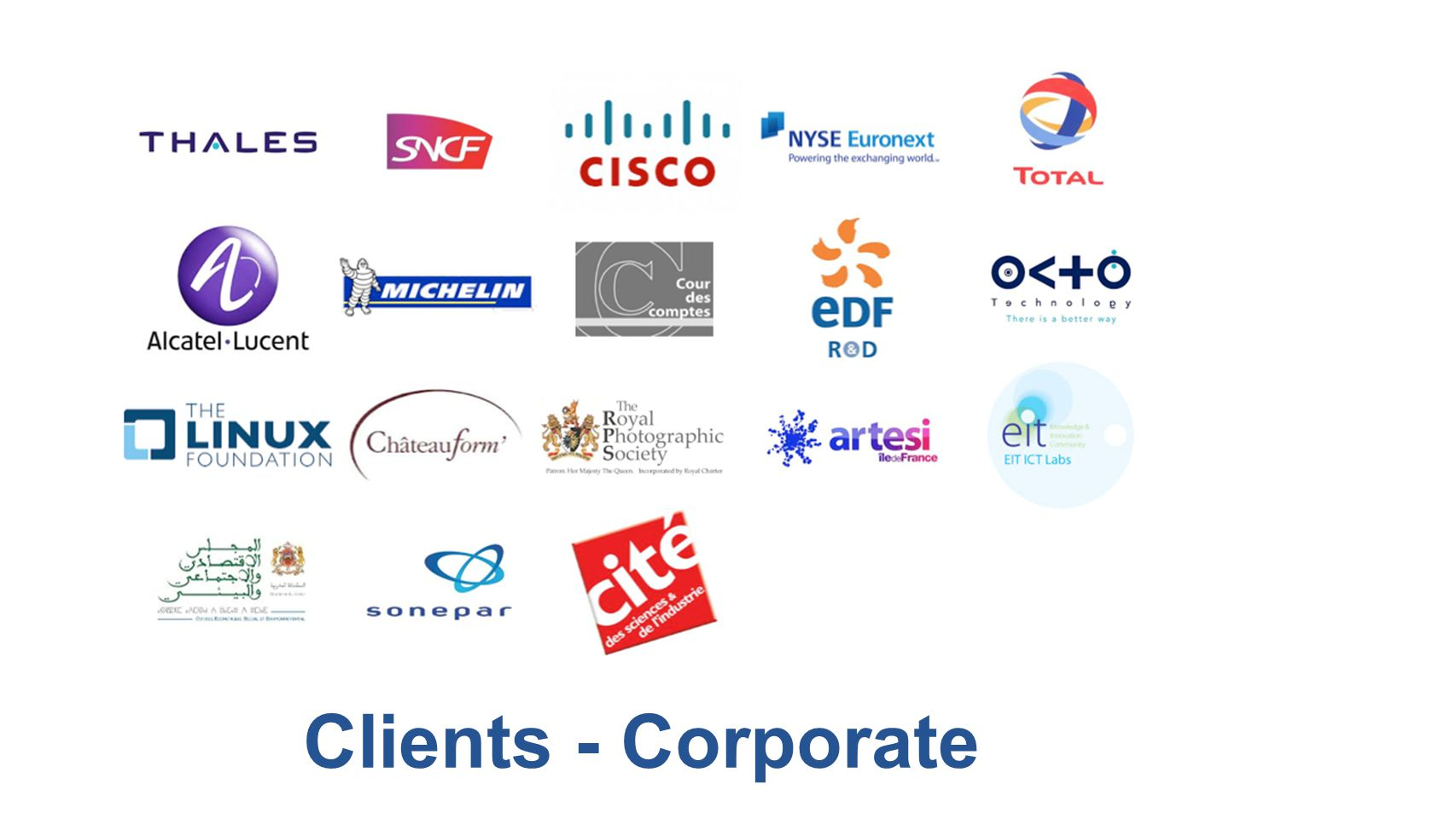 Clients - Corporate