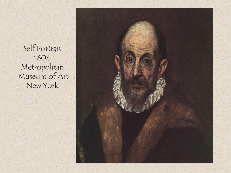 Self Portrait 1604 Metropolitan Museum of Art New York