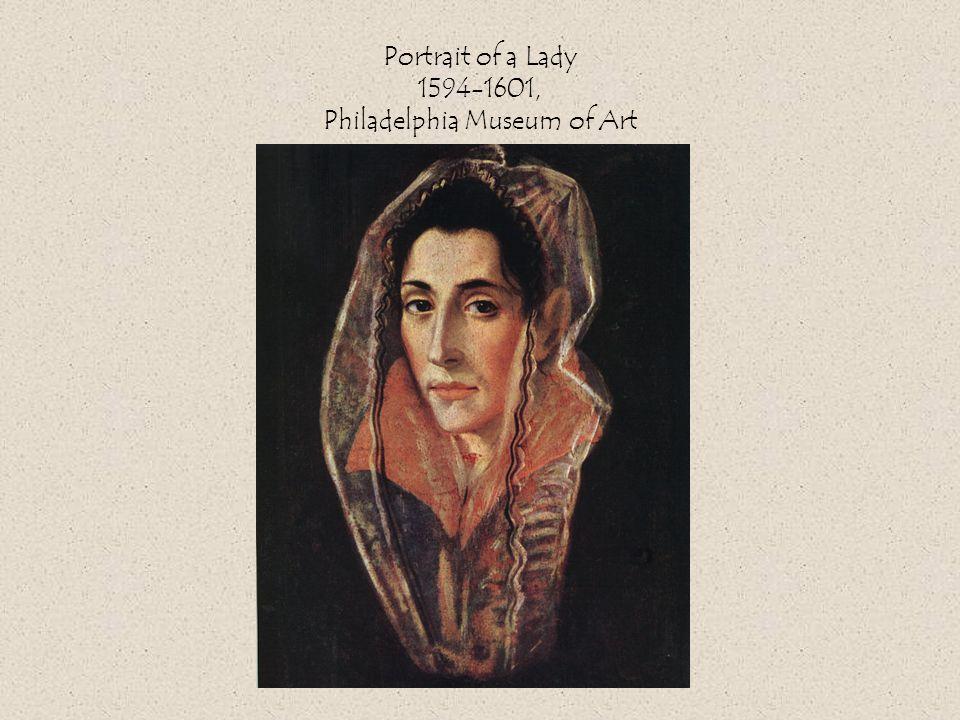 Portrait of a Lady 1594-1601, Philadelphia Museum of Art