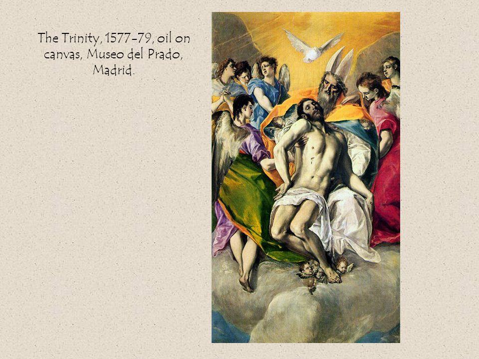 The Trinity, 1577-79, oil on canvas, Museo del Prado, Madrid.