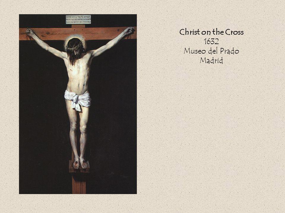 Christ on the Cross 1632 Museo del Prado Madrid