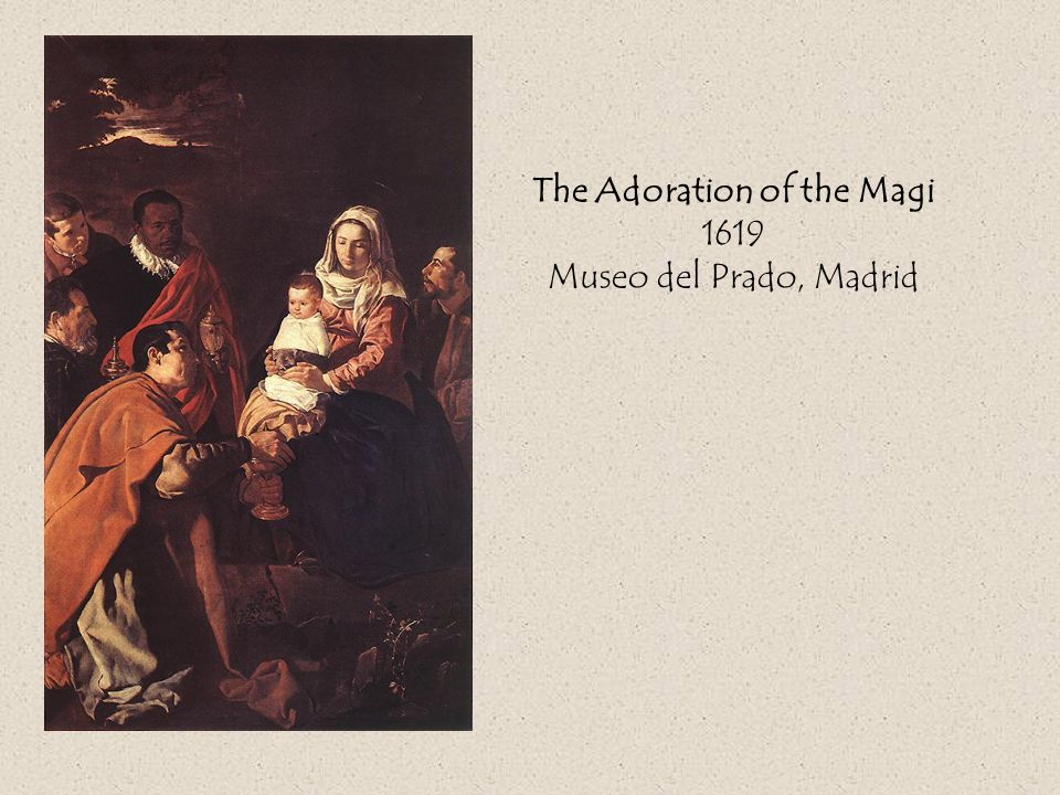 The Adoration of the Magi 1619 Museo del Prado, Madrid