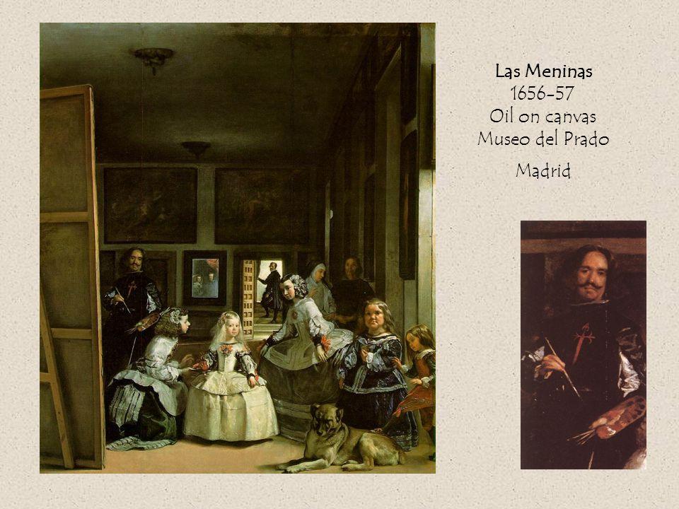 Las Meninas 1656-57 Oil on canvas Museo del Prado Madrid