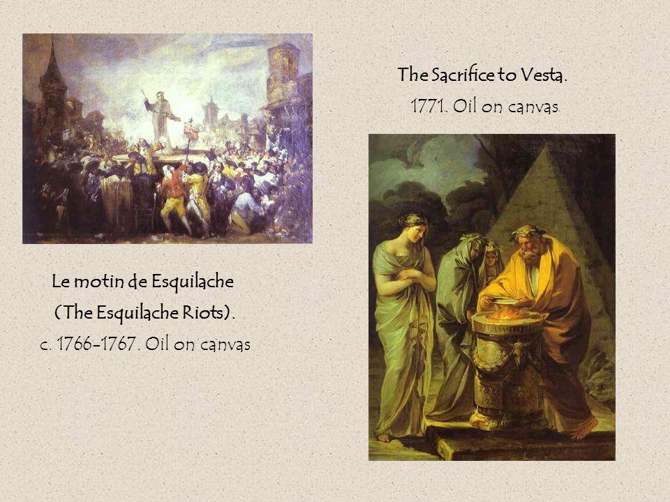 Le motin de Esquilache (The Esquilache Riots). c.