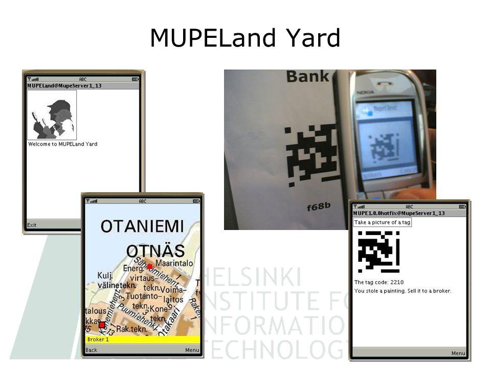MUPELand Yard