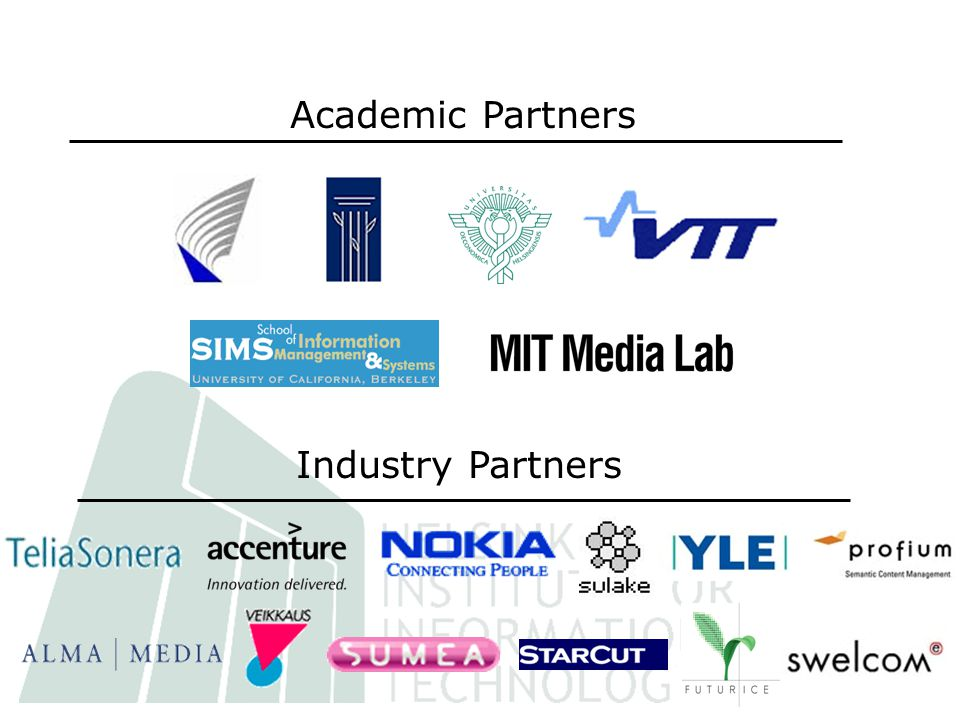 Academic Partners Industry Partners