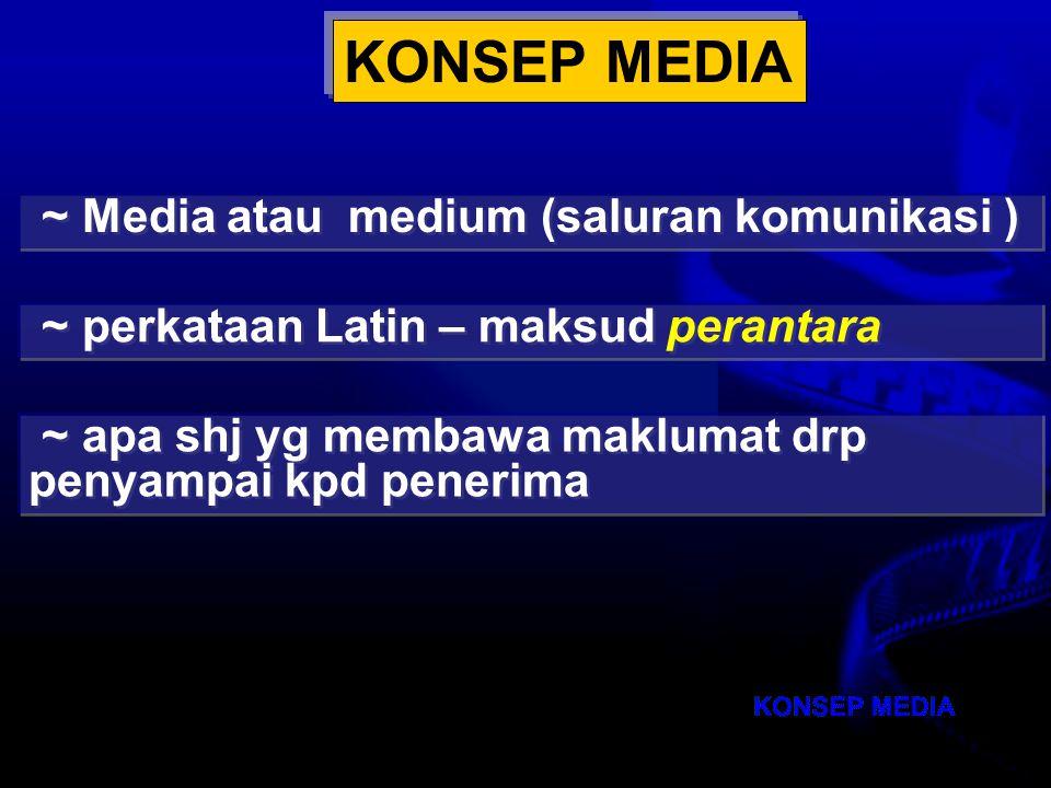 Nota Haz KDP OUM 2007 TOPIK 3: MEDIA PENGAJARAN