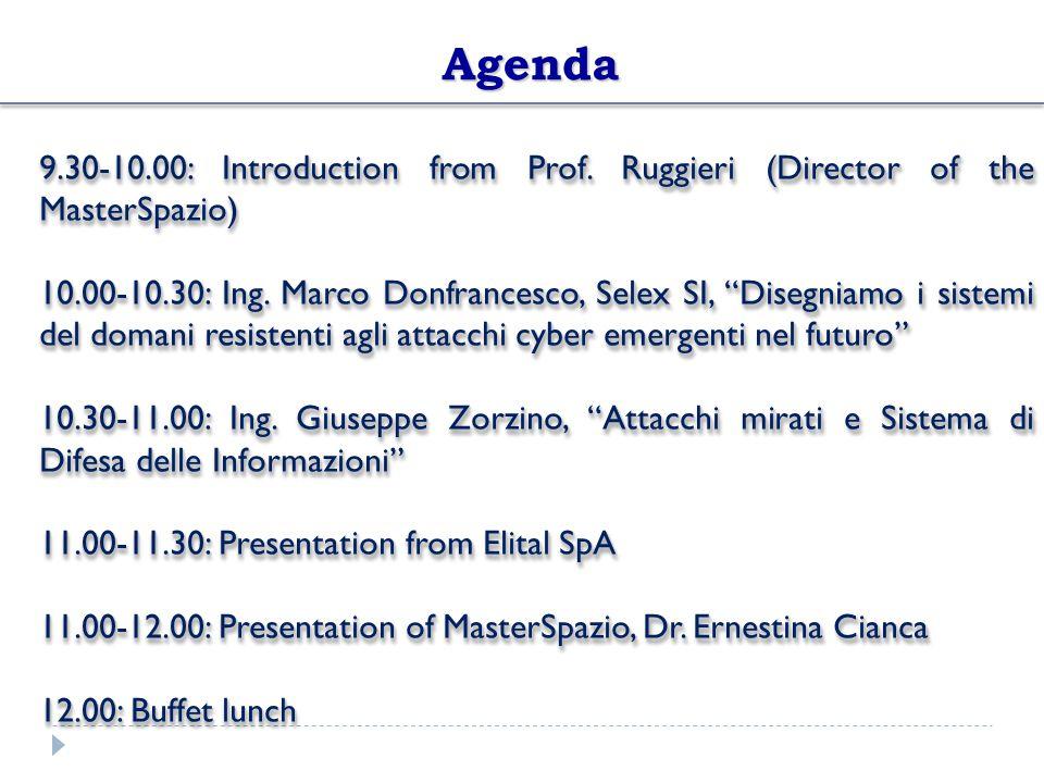 Seminars of MasterSpazio