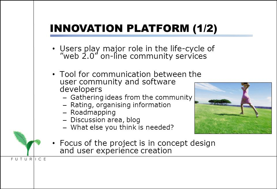 """Users play major role in the life-cycle of """"web 2.0"""" on-line community services Tool for communication between the user community and software develop"""