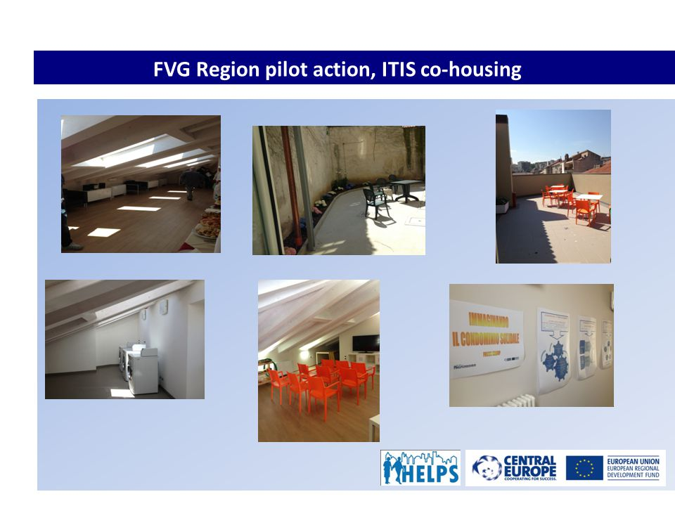 FVG Region pilot action, ITIS co-housing