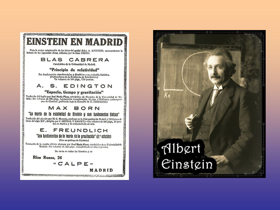 He visited Barcelona, Madrid and Zaragoza, where he gave lectures at the most important institutions and came into contact with the most important scientists and intellectuals at the time.