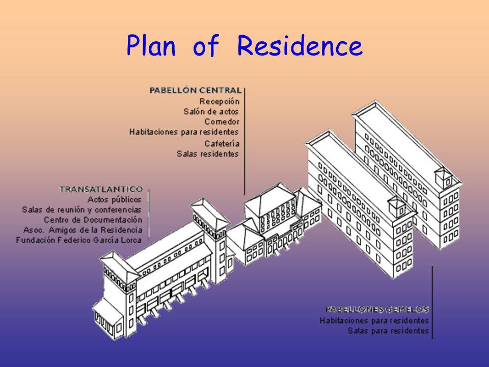 Plan of Residence