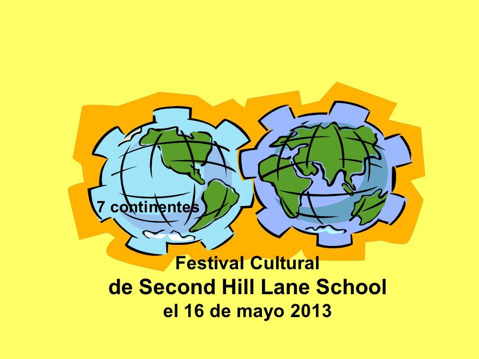 Festival Cultural de Second Hill Lane School el 16 de mayo 2013 7 continentes