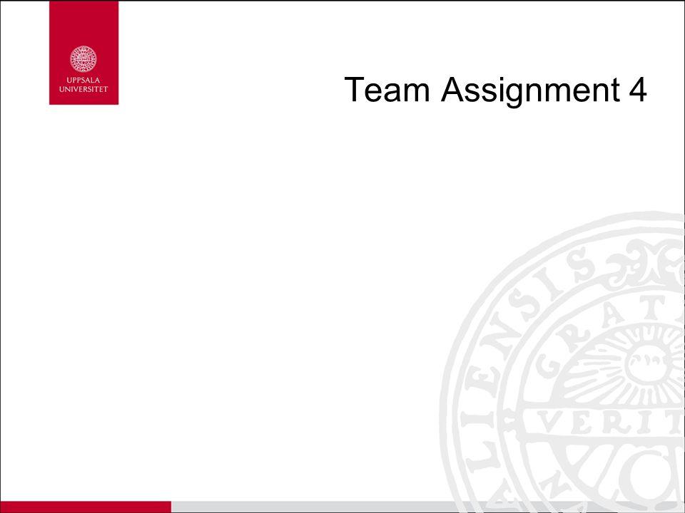 Team Assignment 4