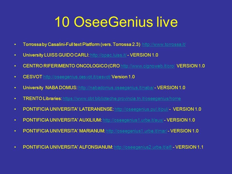 10 OseeGenius live Torrossa by Casalini-Full text Platform (vers.