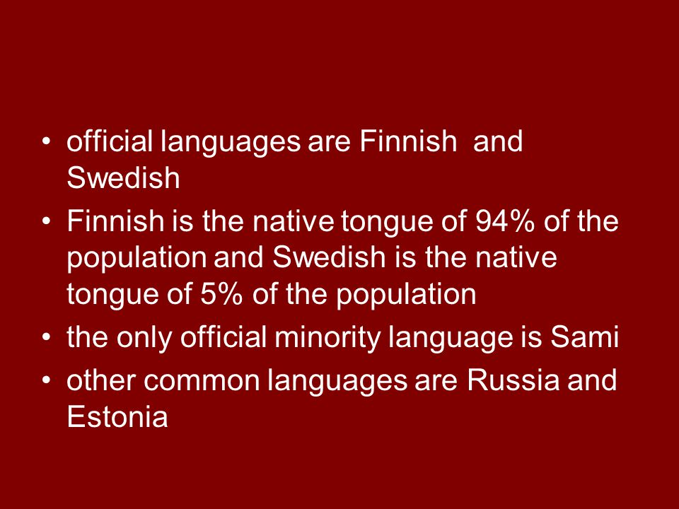 Language has a special significance in the development of one's culture and identity.