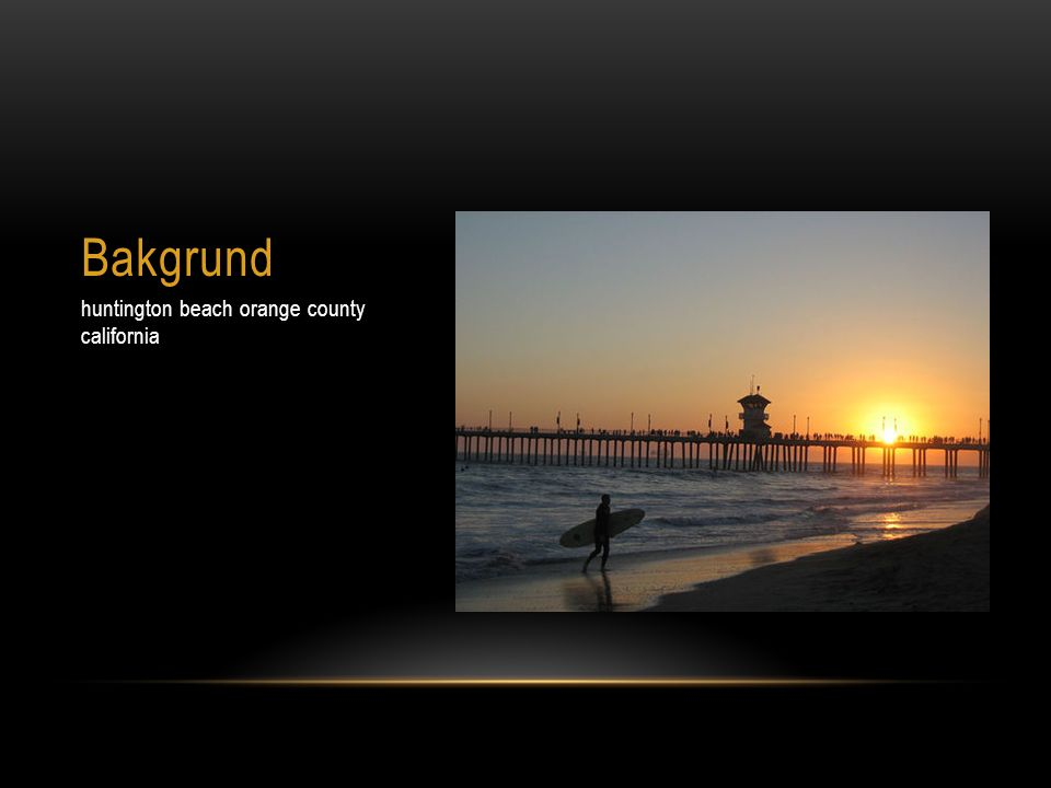 Bakgrund huntington beach orange county california