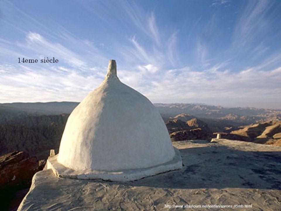 http://www.atlastours.net/jordan/aarons_tomb.html 14eme siècle