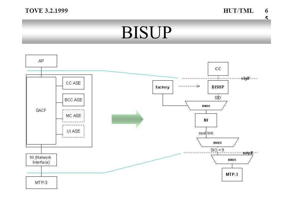 TOVE 3.2.1999HUT/TML65 BISUP