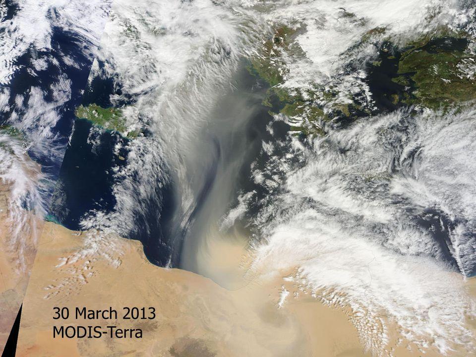 12:50 UTC MODIS 22 May 2013