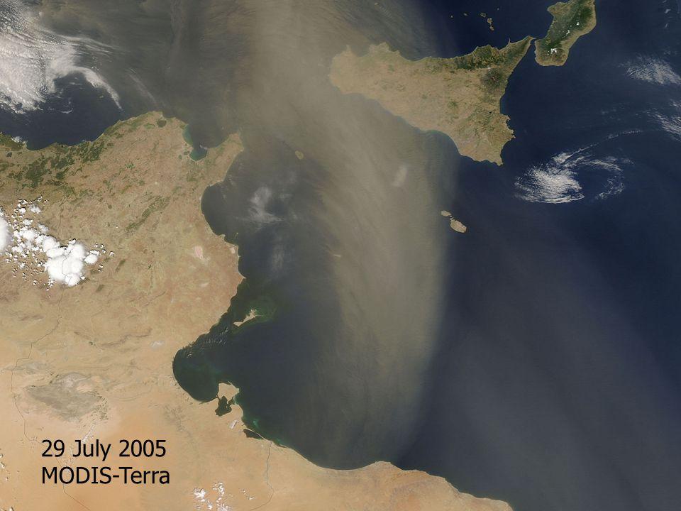 29 July 2005 MODIS-Terra