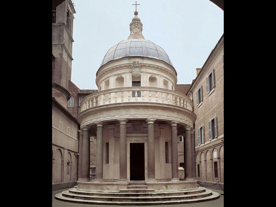 Donato Bramante. Tempietto, San Pietro in Montorio, Rome. 1502–11