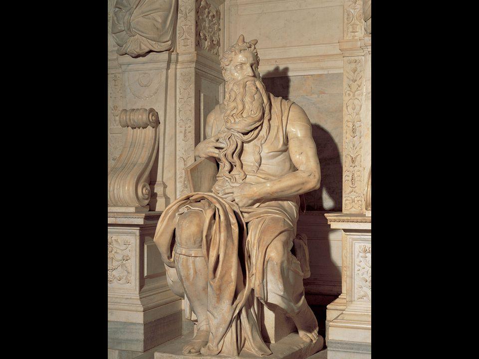 Michelangelo. Moses. ca. 1513–15