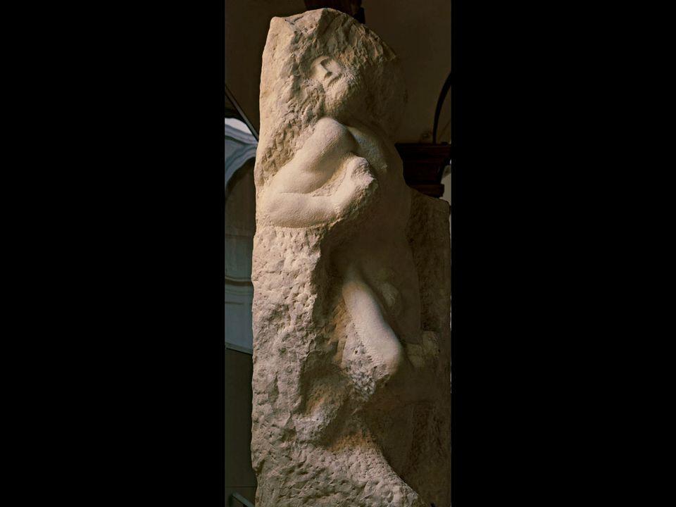 Michelangelo. Awakening Prisoner. ca. 1525