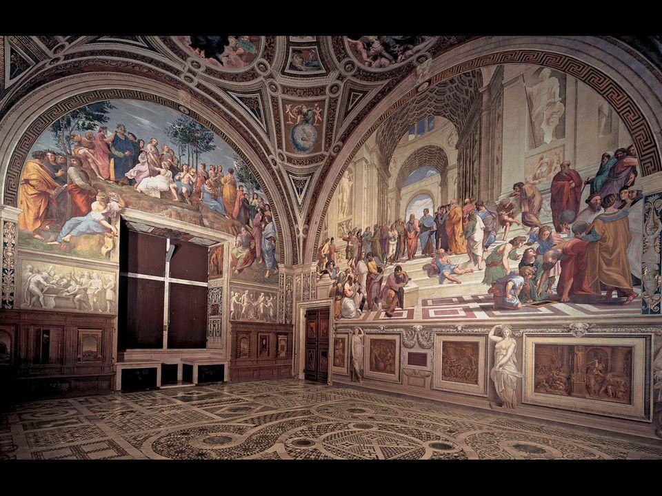Raphael. Frescoes of the Stanza della Segnatura, Vatican Palace, Rome 1508–11