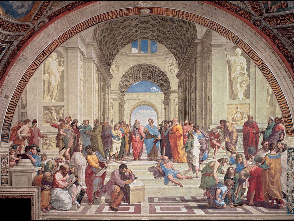 Raphael. The School of Athens, Stanza della Segnatura Vatican Palace, Rome