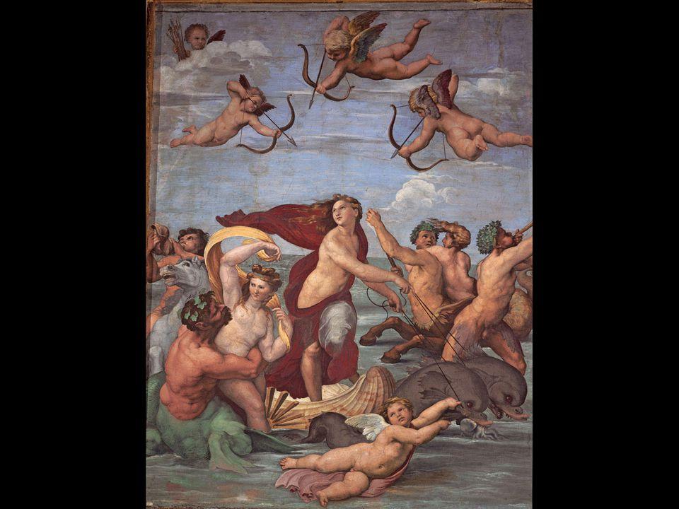 Raphael. Galatea, Villa Farnesina, Rome. ca. 1513