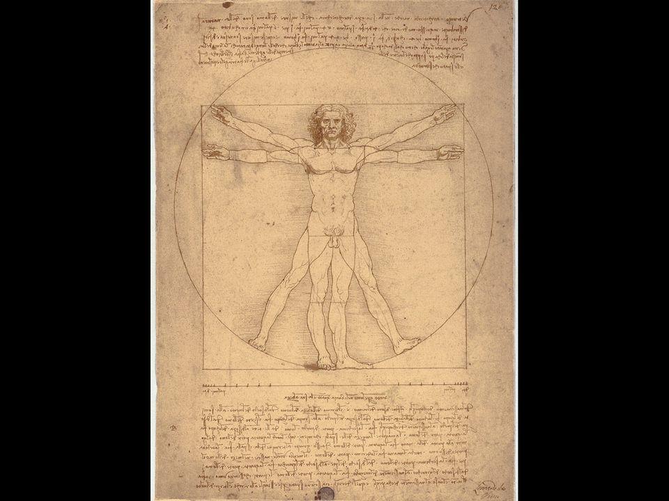 Leonardo da Vinci. Vitruvian Man. ca. 1487