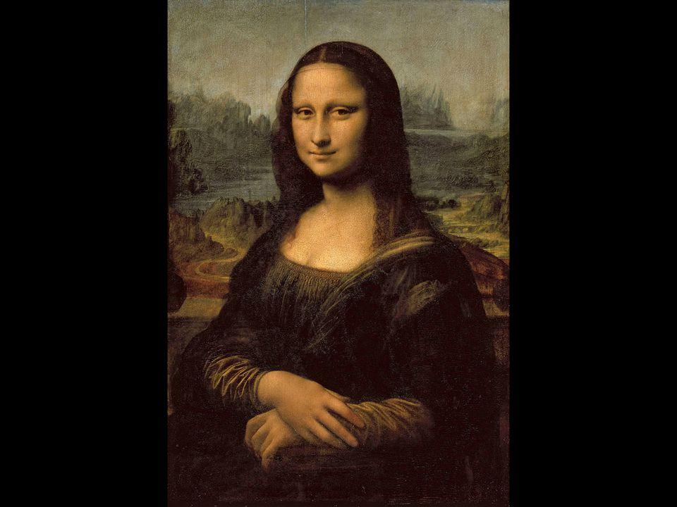 Leonardo da Vinci. Mona Lisa. ca. 1503–05