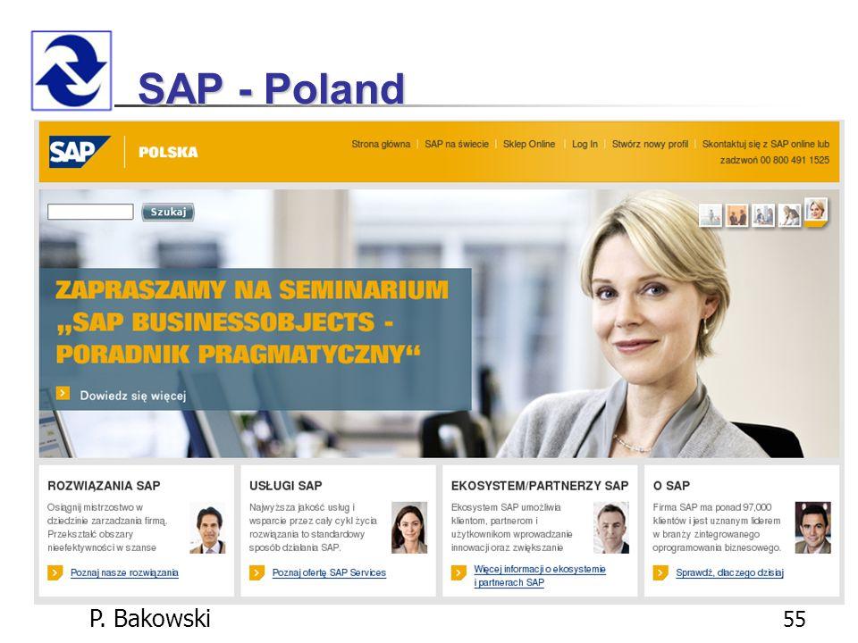 P. Bakowski 55 SAP - Poland
