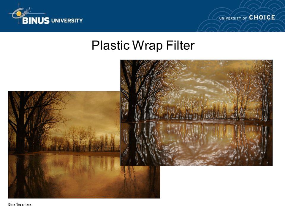 Bina Nusantara Plastic Wrap Filter