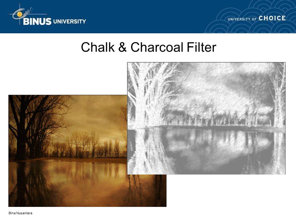 Bina Nusantara Chalk & Charcoal Filter
