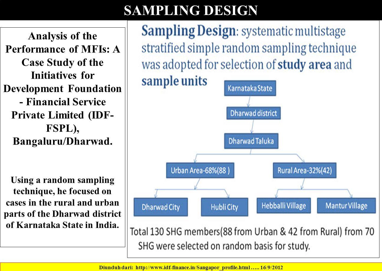 SAMPLING DESIGN Diunduh dari: http://www.idf-finance.in/Sangapor_profile.html …..