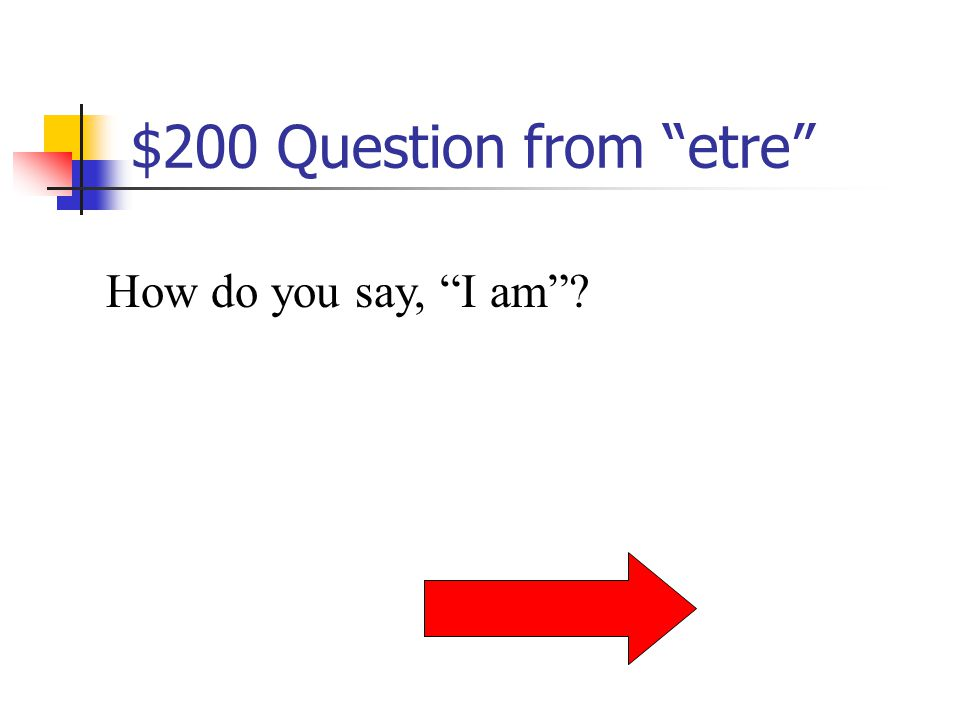 $100 Answer from etre To be