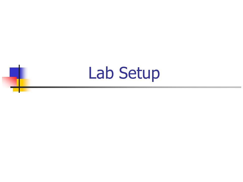 Lab Setup