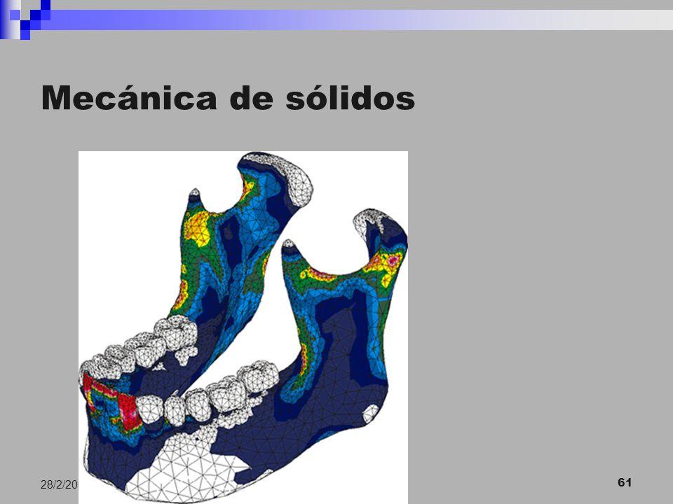 E. Macias. USC 61 28/2/2007 Mecánica de sólidos