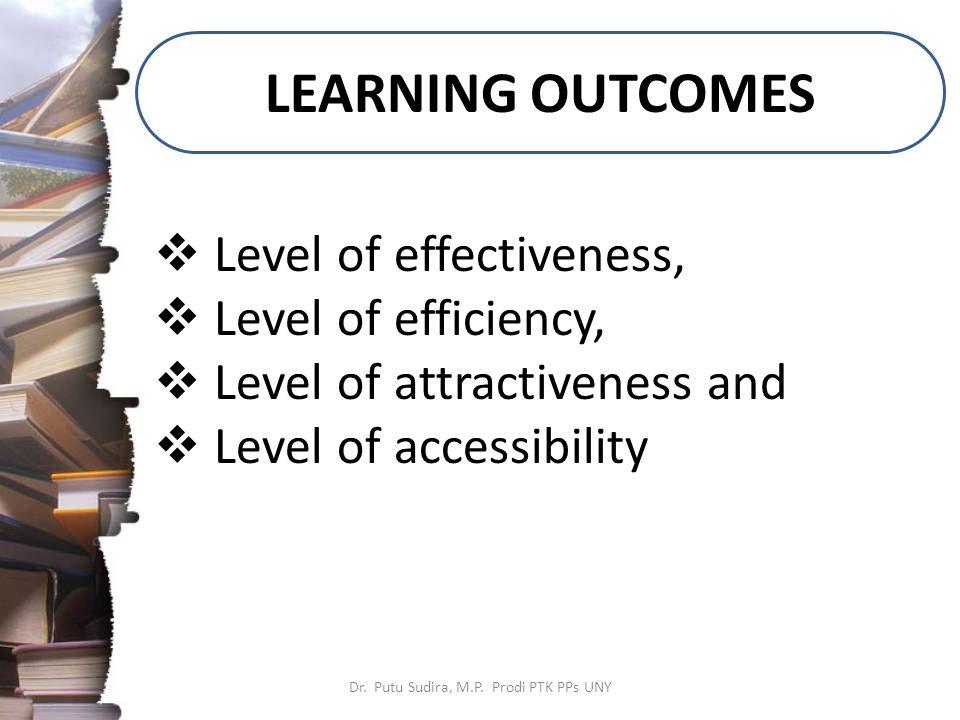 STRUCTURE of LEARNING DESIGN Dr.Putu Sudira, M.P.