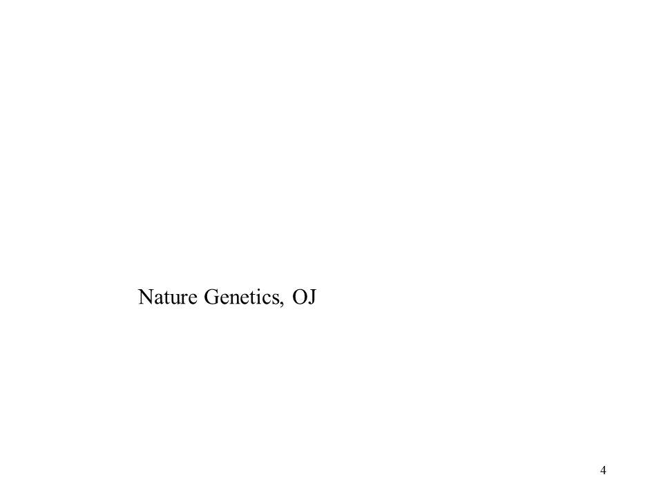 4 Nature Genetics, OJ