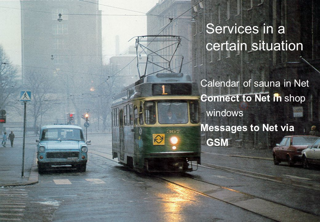 14/01/11 Calendar of sauna in Net Connect to Net in shop windows Messages to Net via GSM Services in a certain situation