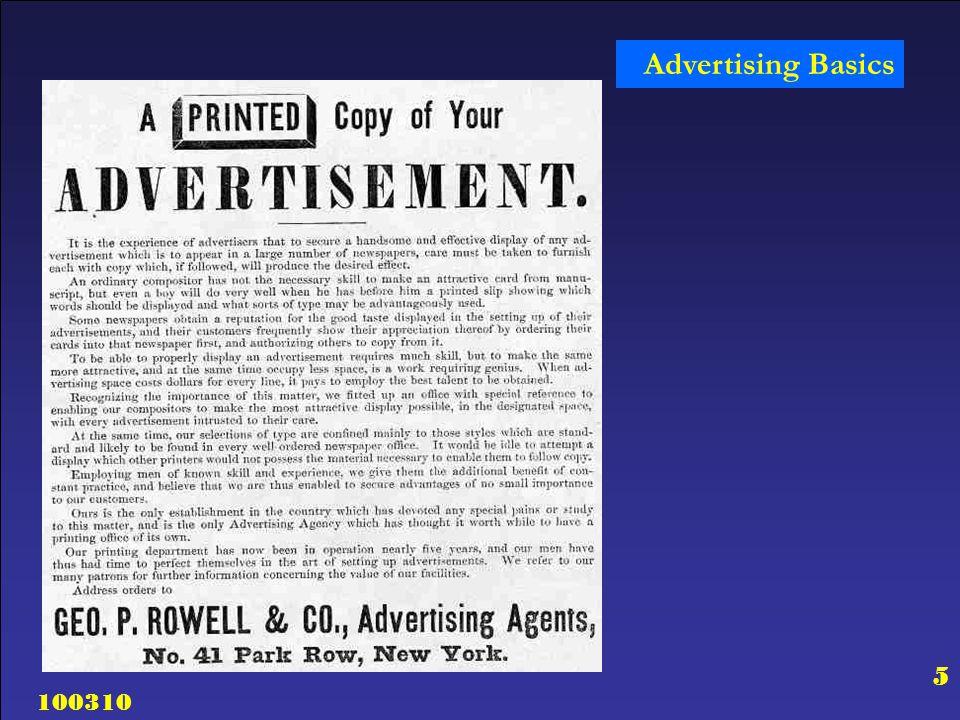 100310 26 Advertising Basics Why Advertise.