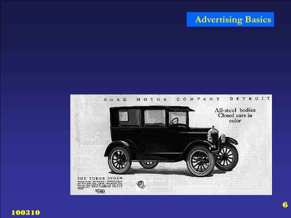 100310 17 Advertising Basics Why Advertise.